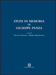 Studi in memoria di Giuseppe Panza - copertina