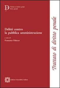 Delitti contro la pubblica amministrazione - copertina