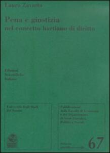 Pena e giustizia nel concetto hartiano di diritto - Laura Zavatta - copertina