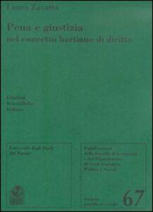 Libro Pena e giustizia nel concetto hartiano di diritto Laura Zavatta