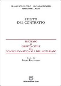 Foto Cover di Effetti del contratto, Libro di AA.VV edito da Edizioni Scientifiche Italiane