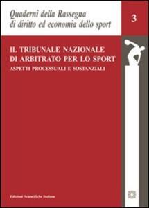 Il tribunale nazionale di arbitrato per lo sport - copertina