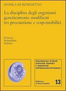 Antondemarirreguera.es La disciplina degli organismi geneticamente modificati tra precauzione e responsabilità Image
