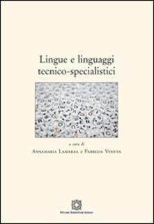 Osteriacasadimare.it Lingue e linguaggi tecnico-specialistici Image
