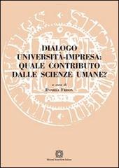 Dialogo università impresa. Quale contributo dalle scienze umane?