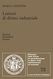 Lezioni di diritto industriale