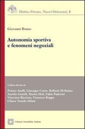 Autonomia sportiva e fenomeni negoziali