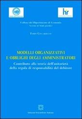 Modelli organizzativi e obblighi degli amministratori