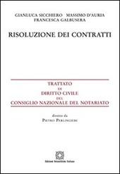 Risoluzione dei contratti