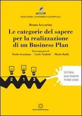 Le categorie del sapere per la realizzazione di un business plan