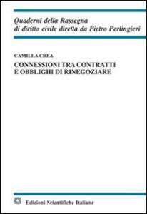 Connessioni tra contratti e obblighi di rinegoziare