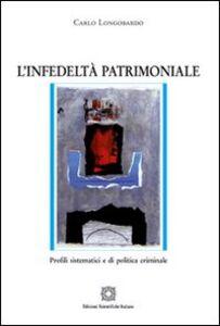 Libro L' infedeltà patrimoniale Carlo Longobardo