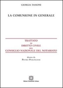 Libro La comunione in generale Giorgia Tassoni