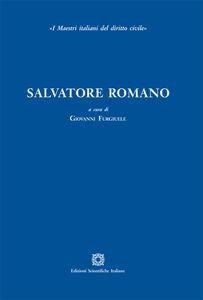 Foto Cover di Salvatore Romano, Libro di  edito da Edizioni Scientifiche Italiane
