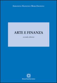 Arte e finanza - Emmanuele F. Emanuele - copertina