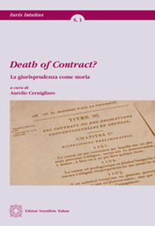 Voluntariadobaleares2014.es Death of contract? La giurisprudenza come storia Image