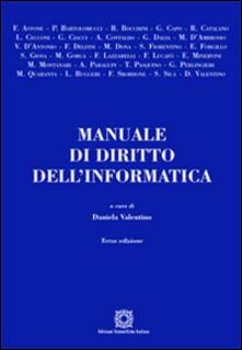 Vitalitart.it Manuale di diritto dell'informatica Image