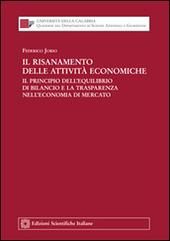 Il risanamento delle attività economiche