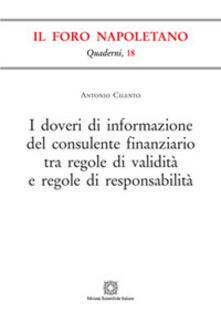 Antondemarirreguera.es I doveri di informazione del consulente finanziario tra regole di validità e regole di responsabilità Image