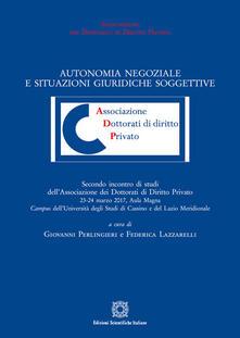 Premioquesti.it Autonomia negoziale e situazioni giuridiche soggettive Image