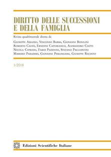 Daddyswing.es Diritto delle successioni e della famiglia (2018). Vol. 1 Image