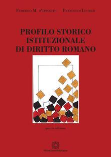 Profilo storico istituzionale di diritto romano.pdf