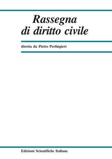 Daddyswing.es Rassegna di diritto civile (2018). Vol. 2 Image