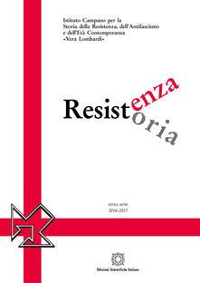 Resistenza resistoria 2016-2017 - copertina