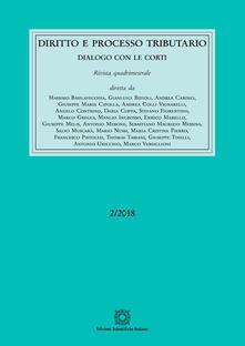 Squillogame.it Diritto e processo tributario (2018). Vol. 2 Image