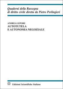 Capturtokyoedition.it Autotutela e autonomia negoziale Image