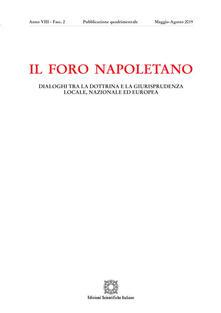 Rallydeicolliscaligeri.it Il Foro napoletano (2019). Vol. 2 Image