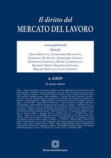 Associazionelabirinto.it Il diritto del mercato del lavoro (2019). Vol. 2 Image