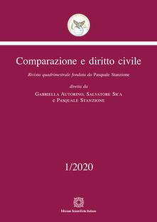 Radiospeed.it Comparazione e diritto civile (2020). Vol. 1 Image