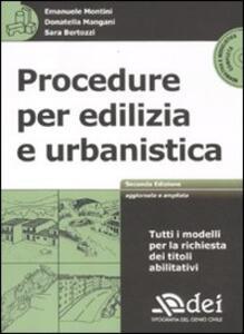 Procedure per edilizia e urbanistica. Con CD-ROM