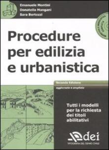 Nicocaradonna.it Procedure per edilizia e urbanistica. Con CD-ROM Image