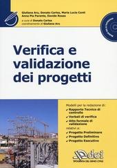 Verifica e validazione dei progetti. Con CD-ROM