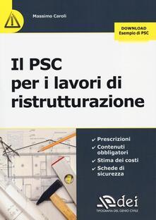 Capturtokyoedition.it Il PSC per i lavori di ristrutturazione Image