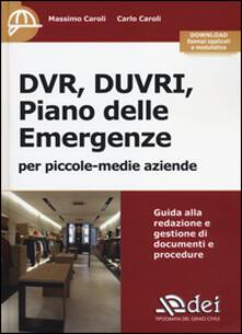 Camfeed.it DVR, DUVRI, piano delle emergenze per piccole-medie aziende. Con aggiornamento online Image