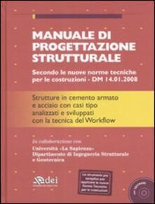 Antondemarirreguera.es Manuale di progettazione strutturale. Con CD-ROM Image