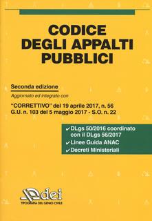 Codice degli appalti pubblici.pdf