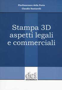 Stampa 3D aspetti legali e commerciali