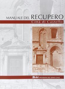 Manuale del recupero di Città di Castello