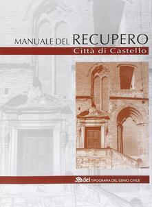 Winniearcher.com Manuale del recupero di Città di Castello Image