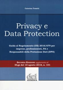 Ilmeglio-delweb.it Privacy e data protection. Guida al Regolamento (UE) 2016/679 per imprese, professionisti, PA e Responsabili della protezione dati (DPO) Image
