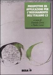 Prospettive e applicazioni per l'insegnamento dell'italiano L2