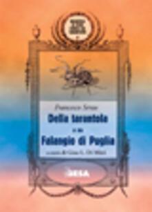Della tarantola o sia Falangio di Puglia - Francesco Serao - copertina