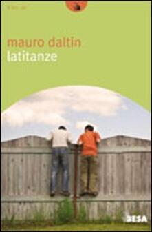Latitanze - Mauro Daltin - copertina