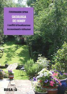 Libro Sociologia dei Nimby Ferdinando Spina