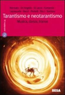 Tarantismo e neotarantismo - copertina