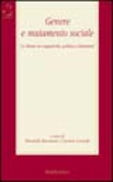 Aboutschuster.de Genere e mutamento sociale. Le donne tra soggettività, politica e istituzioni Image